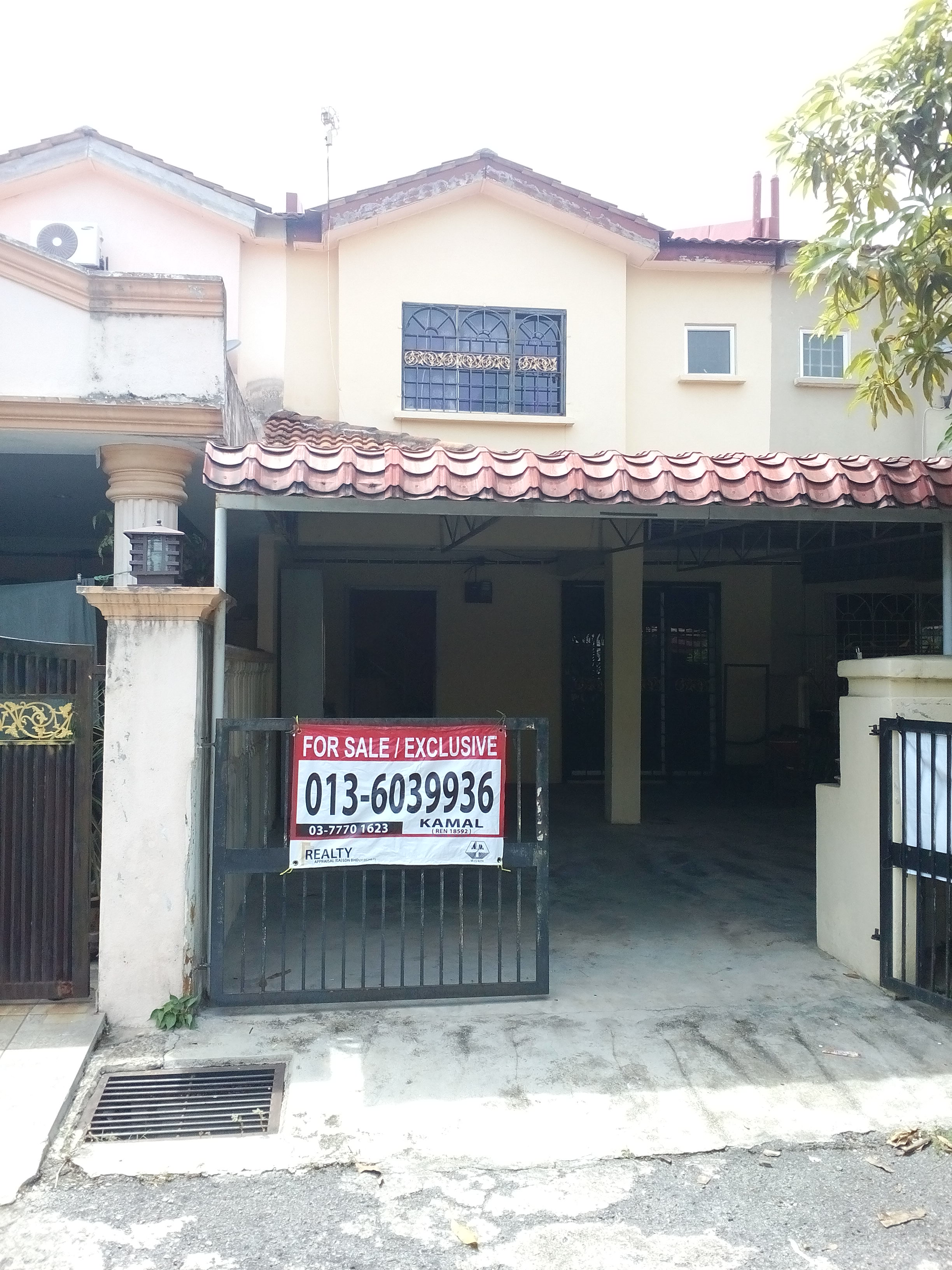 FOR SALE RUMAH MAMPU MILIK- DOUBLE STOREY HOUSE