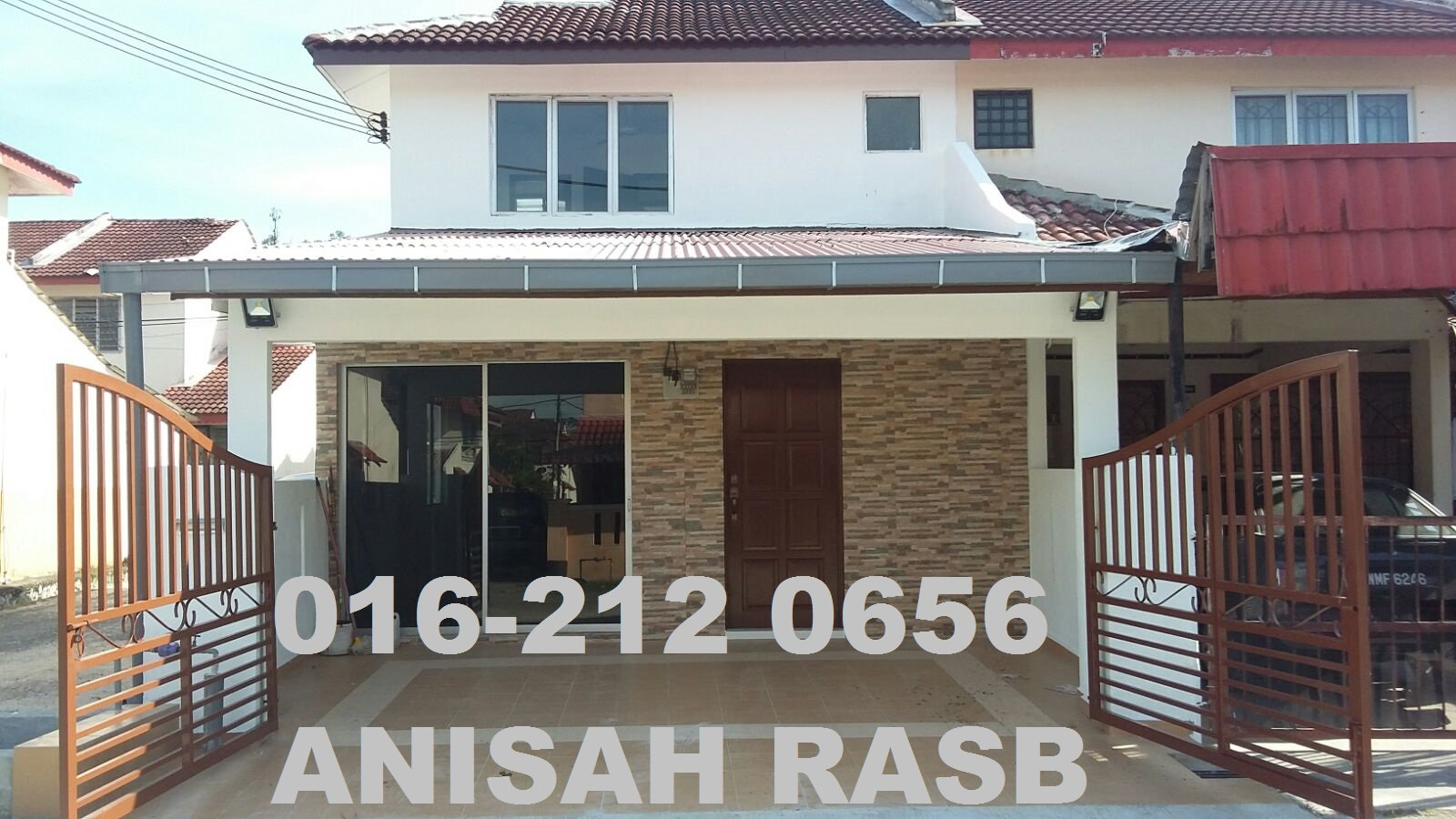 For Sale: Double Storey Terrace (End Lot) Taman Kantan Permai, Kajang